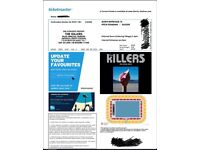 2 x The Killers Swansea tickets