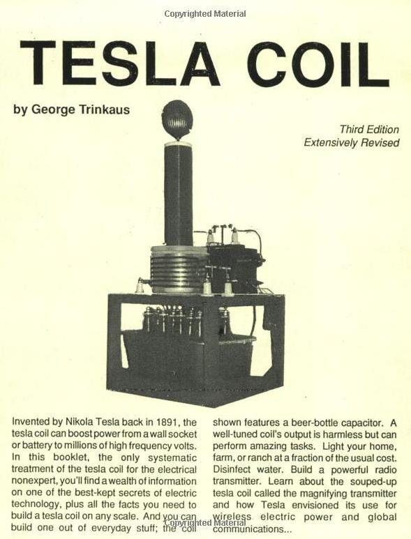 """""""Tesla Coil"""" Paperback"""