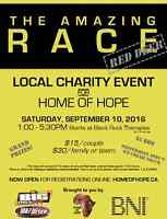 AMAZING RACE RED DEER - supporting Home of Hope