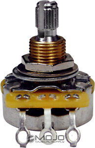 Matched CTS Mojotone Pot  500k Short Split - Custom Audio Guitar Potentiometer