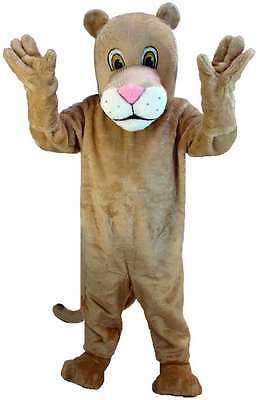 Lioness Professional Quality Lightweight Mascot Costume Adult Size