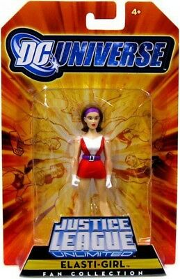 DC Universe Justice League Unlimited Fan Collection Elasti-Girl Action Figure