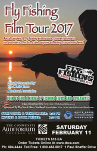 2 tickets for the Fly Fishing Canada Tour