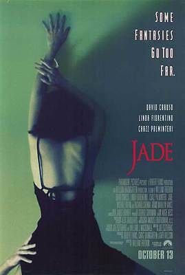 JADE Movie POSTER 27x40 David Caruso Linda Fiorentino Chazz Palminteri Michael
