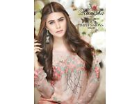 Ramsha Embroidered Chiffon Collection