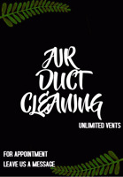 Limited Time Offer! Duct Cleaning $119.99