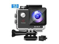 NEW 4K action camera 16MP WIFI, waterproof