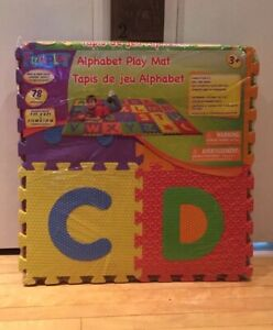 ALPHABET FLOOR PLAY MAT