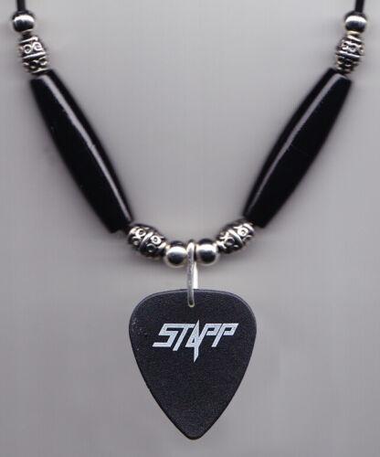 Creed Scott Stapp Signature Black Guitar Pick Necklace