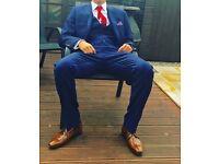 Next full blue suit