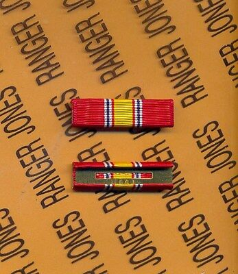 US ARMY NATIONAL DEFENSE SERVICE Medal Ribbon NDSM award
