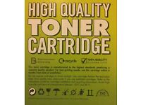 Yellow Laser Toner Cartridge Q3962A-compatible for HP LaserJet 2550 & Canon LBP 5200. Sealed/Unused