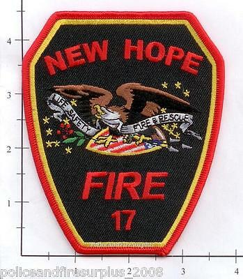 North Carolina - New Hope 17 NC Fire Dept Patch
