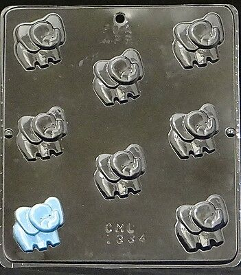 Baby Elephant Bite Size Chocolate Candy Mold 1334 Baby Shower Favor/Cupcake NEW (Baby Candy Molds)