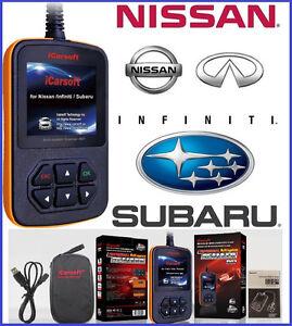 Subaru Diagnostic Scanner Tool Srs Abs Check Engine Light