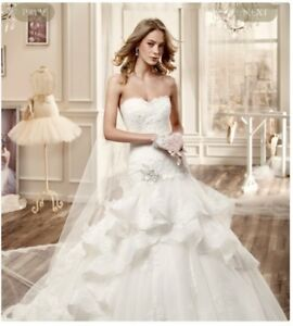 Wedding dress by Nicole Spose