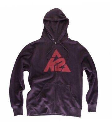 K2 Branded Full Zip Hoodie Mens MSRP $49.95 -