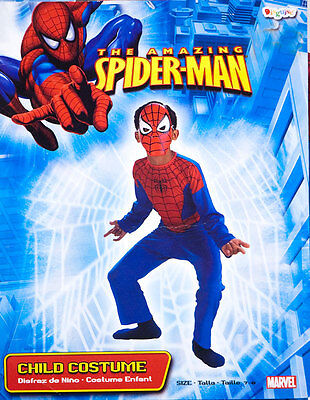 Disguise Boys Size 7-8 The Amazing Spider Man Halloween Costume Spiderman 7 8