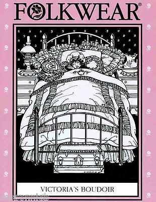Folkwear Victoria's Boudoir Victorian Bedroom Quilt, Pillows + Sewing Pattern