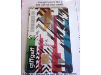 Free Giffgaff SIM Cards with £5 credit bonus