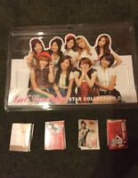Kpop snsd girls generation star card stand +27 cards