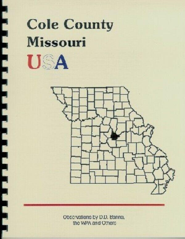 History of Cole County Missouri