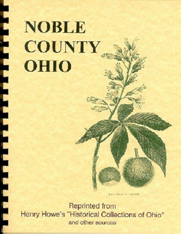 History of Noble County Ohio