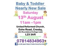 Baby & Toddler (up to 6 years) Nearly New Sale