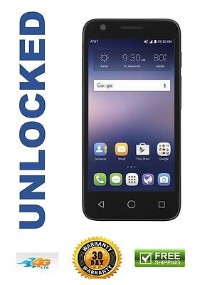 New Alcatel Ideal Ot 4060A At T Unlocked Blue 4G Lte 8Gb 4 5  Android 5 1