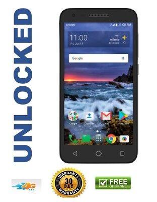 """New Alcatel Verso 5044C Cricket Unlocked 4G Lte 16GB 5"""" 5MP Smartphone"""