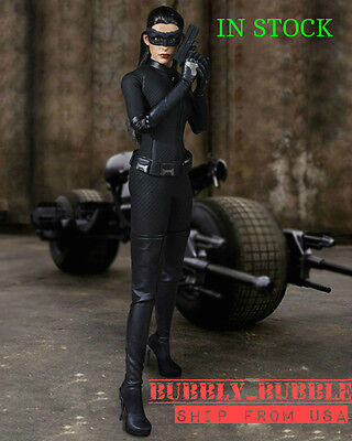 1/6 Catwoman Set Anne Hathaway Batman For Hot Toys Phicen Female SHIP FROM - Catwoman Hot