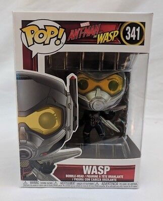 Funko Pop Marvel Ant Man And The Wasp   Wasp Vinyl Figure  341 Non Chase   New