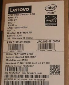 LENOVO LAPTOP BRAND NEW BOXED SEALED MODEL 80XH002YUK. UNWANTED GIFT SELLS FOR £479 at ARGOS