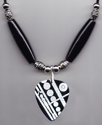 Eddie Van Halen Signature Crop Circles Guitar Pick Necklace 2015 Tour