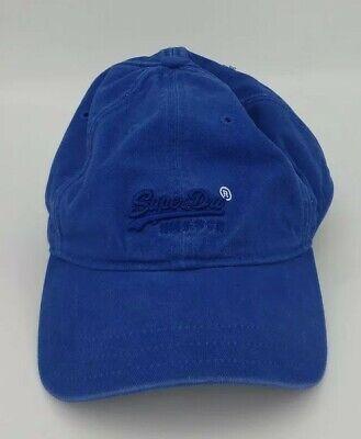 Superdry Baseball Cap Royal Blue Men One size Fits All Hat
