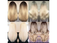 LIMITED OFFER PAY FOR HAIR ONLY!!! L.A. weave micro ring weave hair extensions💖