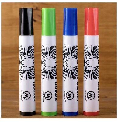 Monaggio Dry Erase Markers Whiteboard Pens Set Fine Point Kid School Erasable