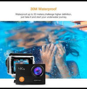 BRAND NEW Apeman Action Camera A77 4k 1080p Waterproof Camera