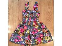 Miso Summer Floral Dress Size 6