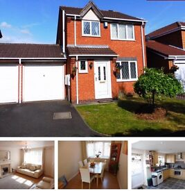 3 bed modern detached house PRIVATE let available 1st June 2017 £795 pcm