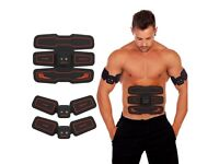 EMS Muscle Stimulator, HURRISE Abs Trainer Stomach Toning Belt for Abdomen