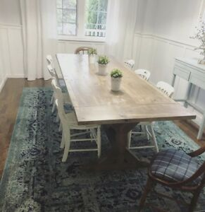 Custom Farmhouse/ harvest style tables and Benches