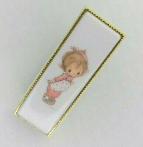 """Vintage Betsey Clark Mini Stapler Japan Prairie Girl Requires Small Staples 4""""L"""