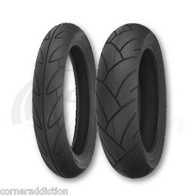 Kawasaki Ninja EX250F Front & Rear Tire Set 100/80-16 & 130/80-16 SR740/SR741
