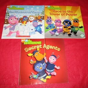 3x Assorted Backyardigan books