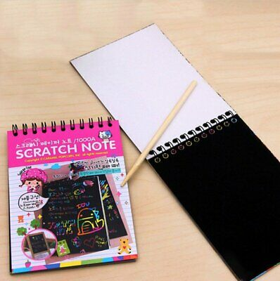 Scratch Paper Art (Magic Scratch Art Painting Book Paper Painting Colorful Educational Toys +)