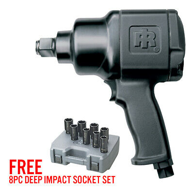 Ingersoll Rand 2161xp Ultra Duty 34 Impact Wrench With Free Socket Set