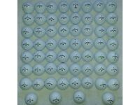 60 CALLAWAY MIXED GOLF BALLS IN VGC
