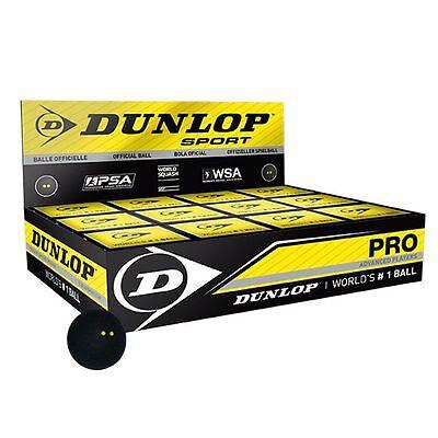 Dunlop Pro Squash Balls - 1 dozen