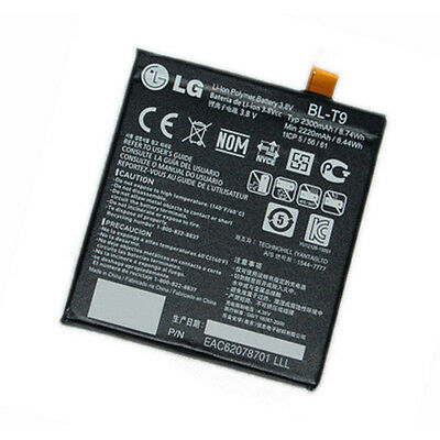 Original LG Akku BL-T9 2300 mAh Google Nexus 5 Ersatzakku Li-lon Batterie Handy ()